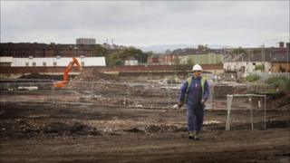 Glasgow Games Village preliminary work