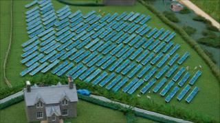 Farmers Rush For Solar Panel Riches Bbc News