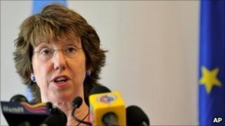 Catherine Ashton, September 2010