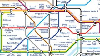 Underground film map