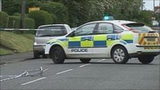 Scene of Stocksfield gun incident