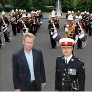 Ben Kaye and The Band of Her Majesty's Royal Marines