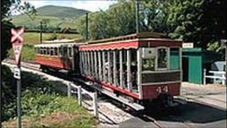 A Manx tram - picture courtesy of the Isle of Man government
