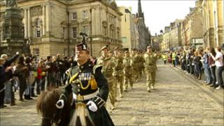 The Royal Scots Borderers