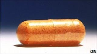 Vitamin B capsule