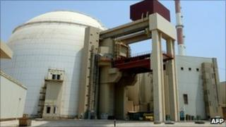 Bushehr nuclear reactor (August 2010)