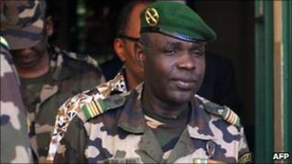 Junta leader Salou Djibo