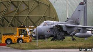 Tornado at RAF Lossiemouth