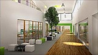 Inside the new Dyke House school