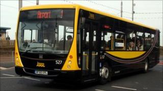 Bus in Blackpool (pic courtesy of Blackpool Transport)