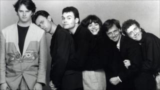 Comedy Store Players (early 90s): Paul, Lee, Neil, Josie, Richard, Jim
