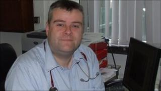 Dr O'Kane says cuts could not be implemented without affeting care