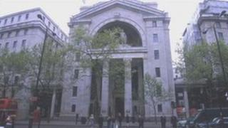 Bush House, the London headquarters of the BBC World Service