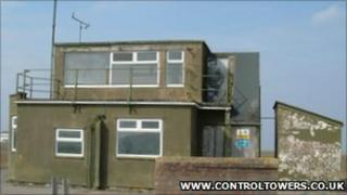 Wroughton air control tower