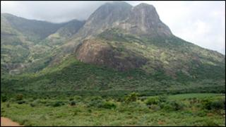 West Bodi hills