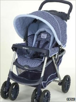 The Graco MetroLite Stroller