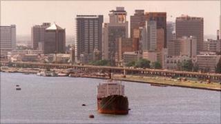 Lagos harbour (file image)