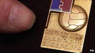 George Best's 1968 European Cup medal