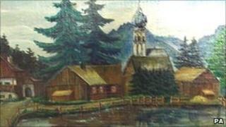 Rudolf Hess painting