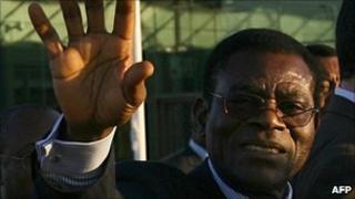 Equatorial Guinea President Obiang