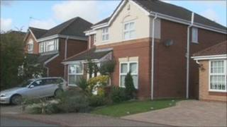 The house in Wickham Close