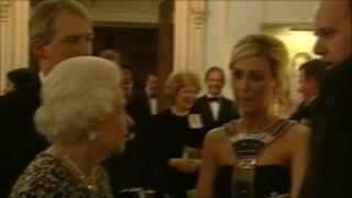 queen at hillsborough castle