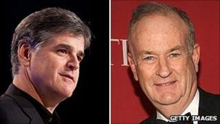 Sean Hannity and Bill O'Reilly