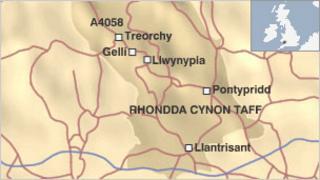 Gelli map