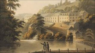 Matlock Bath by John Bluck