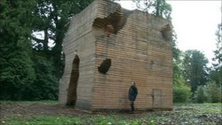 Termite pavilion sculpture
