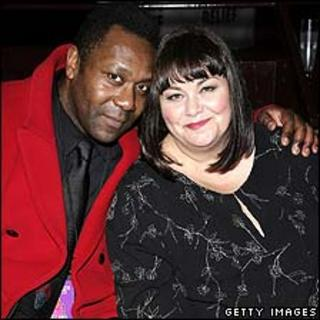 Lenny Henry and Dawn French, pictured in 2006