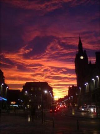 Union Street, Aberdeen. Photograph courtesy of Adam Proctor.