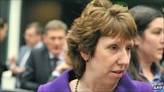 EU foreign affairs chief, Baroness Ashton - 25 Oct 10
