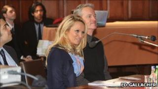 Pamela Anderson at Oxford Union