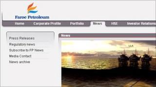 Faroe Petroleum website