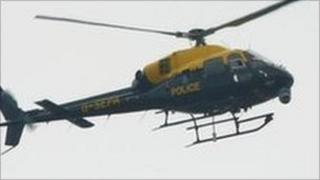 Police helicopter (generic)