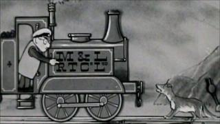 Ivor the Engine and Old Nell from one of the recently discovered reels