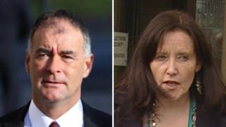Tommy Sheridan and Frances Curran