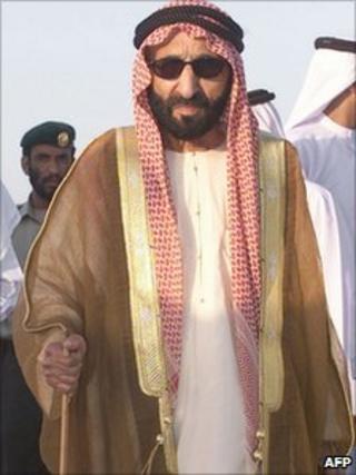 Sheikh Saqr bin Muhammad al-Qassimi 2004