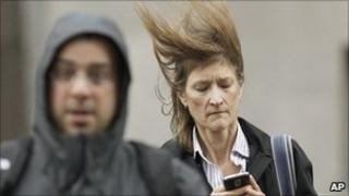 Chicago residents facing harsh winds