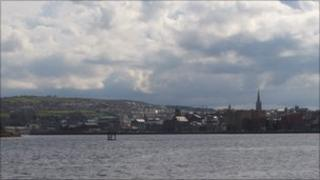 View across River foyle