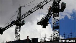 Crane in Manchester
