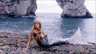 A scene from The Little Mermaid