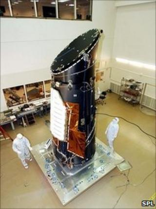 Kepler photometer in clean room