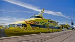 Severn Link 'fast cat' ferry