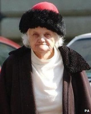 Dorothy Evans in 2007