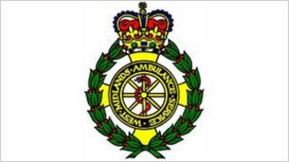 West Midlands Ambulance Service NHS Trust logo