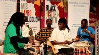 Black History Month celebrations in Wales