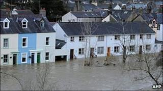 Flooding in Cockermouth