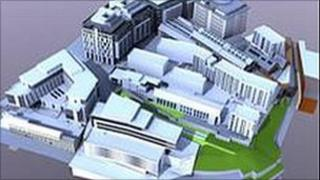 Proposed Stephenson Quarter development